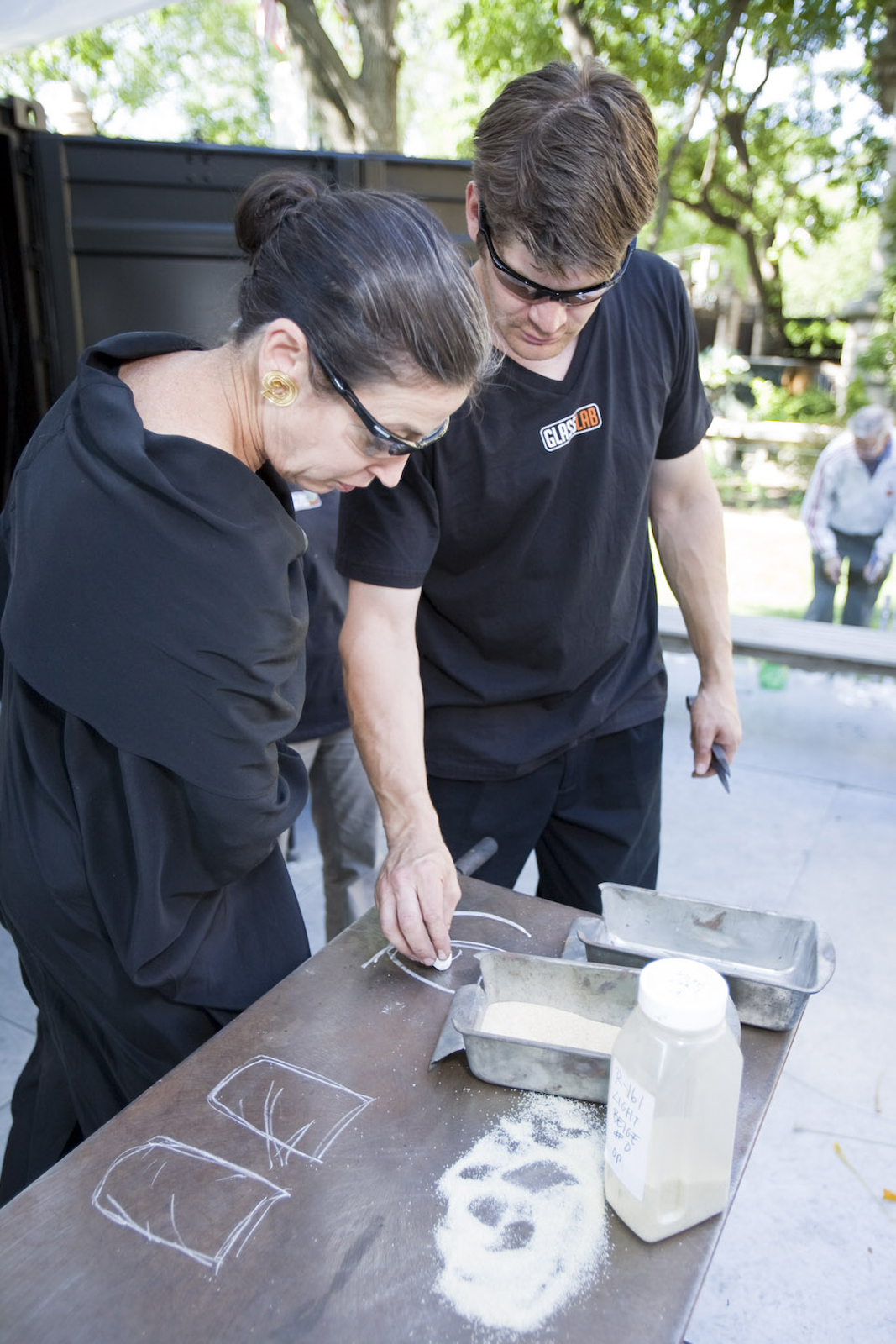 Designer Michele Oka Doner at GlassLab