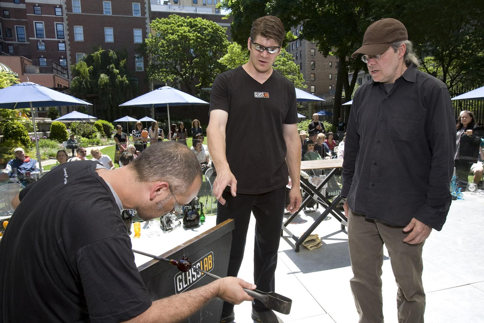 Designer Ted Muehling at GlassLab