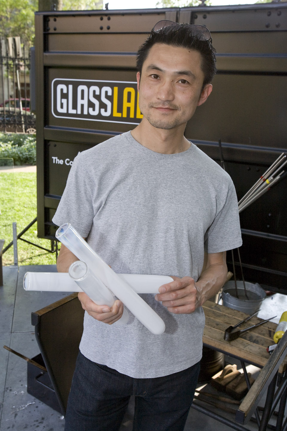 Masamichi Udagawa of Antenna Design GlassLab design program