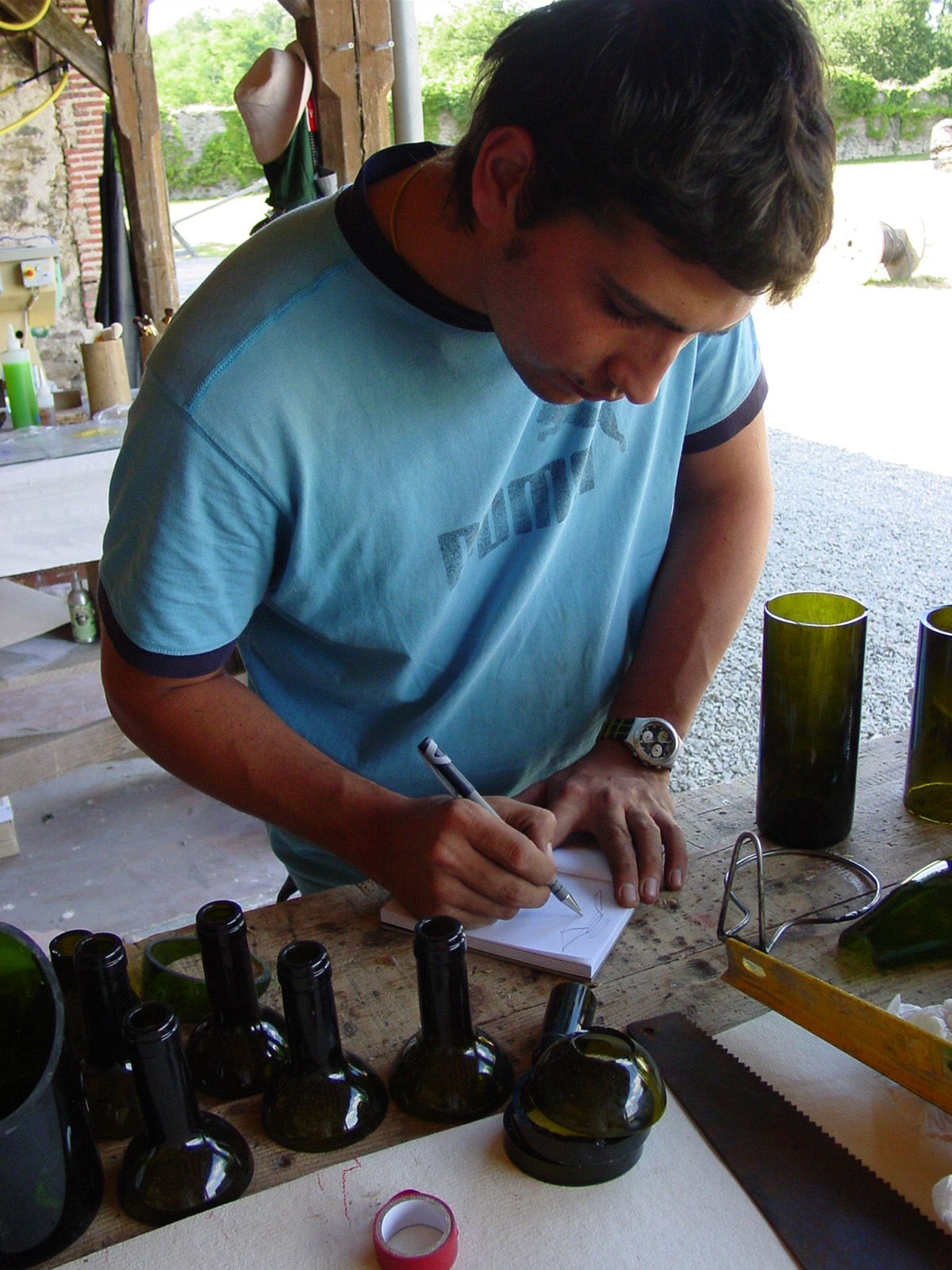 Liquid Fusion Workshop at Boisbuchet 2006
