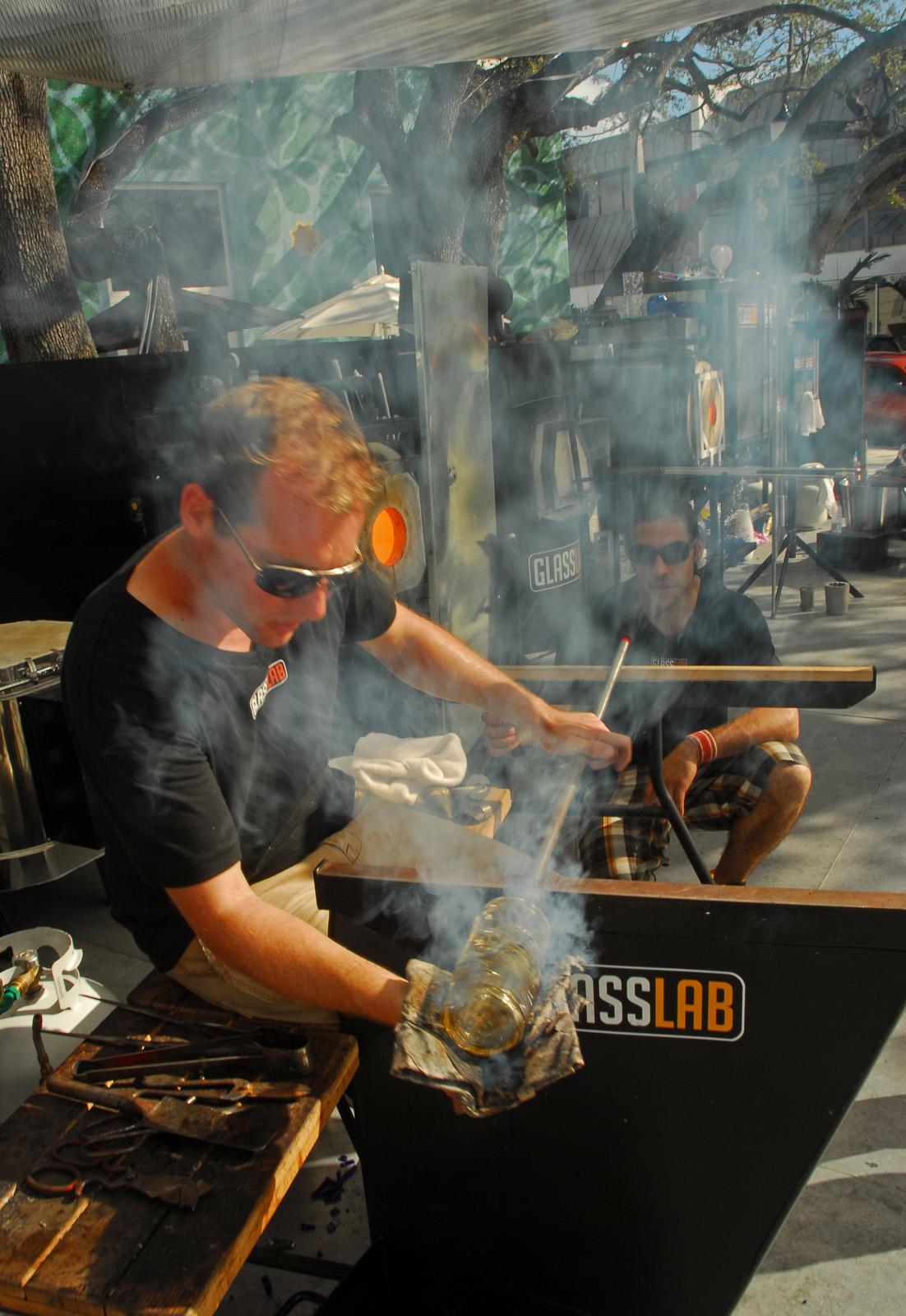 GlassLab at Design Miami 2007