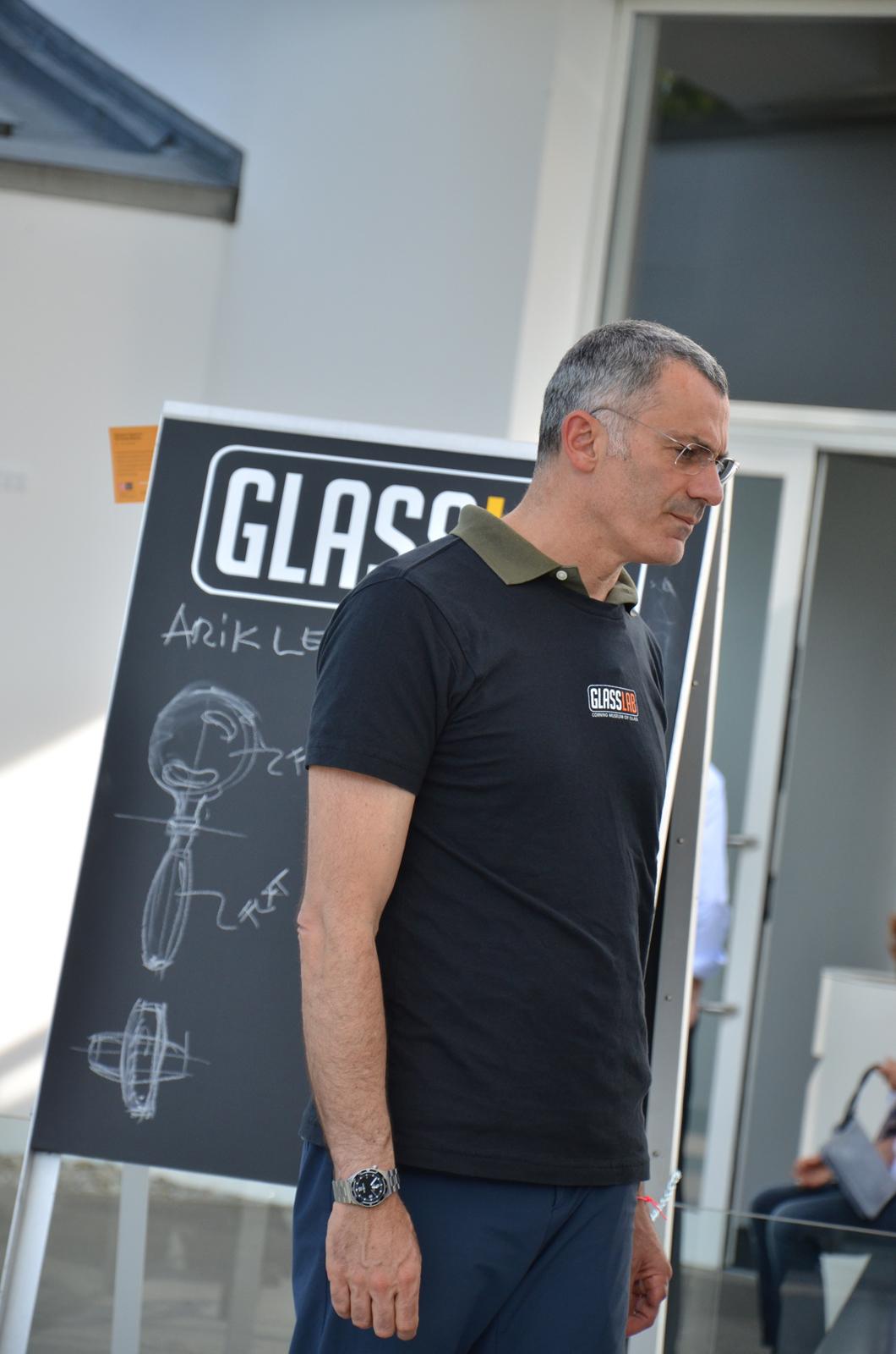 Designer Arik Levy at GlassLab Vitra Design Museum, Art Basel 2011