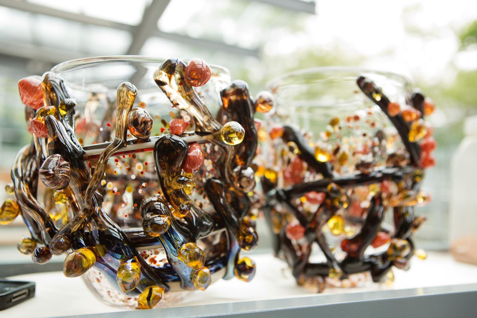 Design prototype by Michele Oka Doner for GlassLab