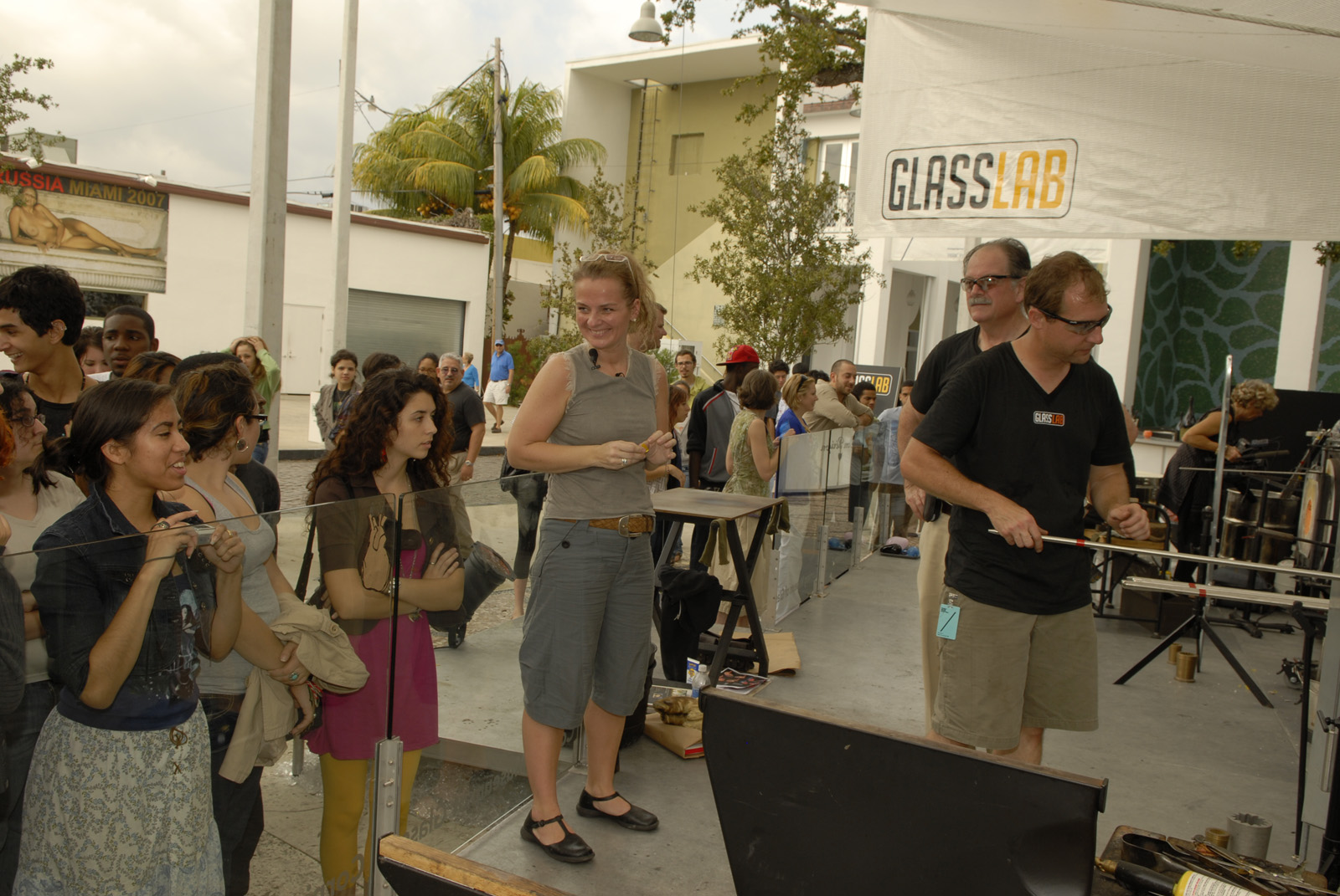 Sigga Heimis at GlassLab at Design Miami 2007