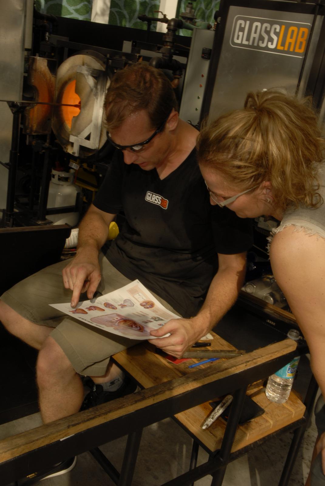 Designer Sigga Heimis at GlassLab