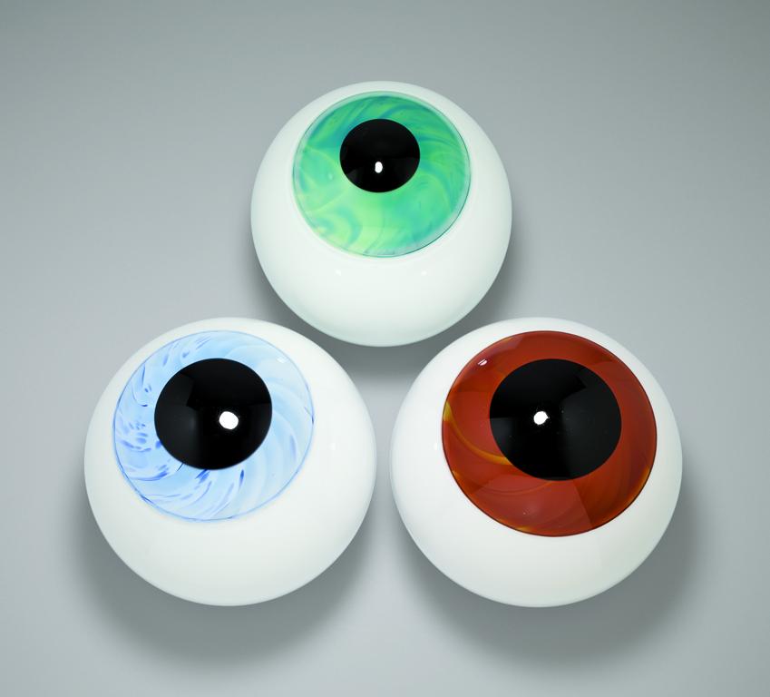 Prototypes by designer Sigga Heimis at GlassLab