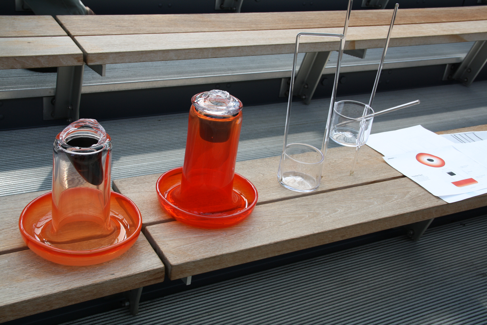 Design prototypes by Sigi Moeslinger and Masamichi Udagawa for GlassLab, June 2012
