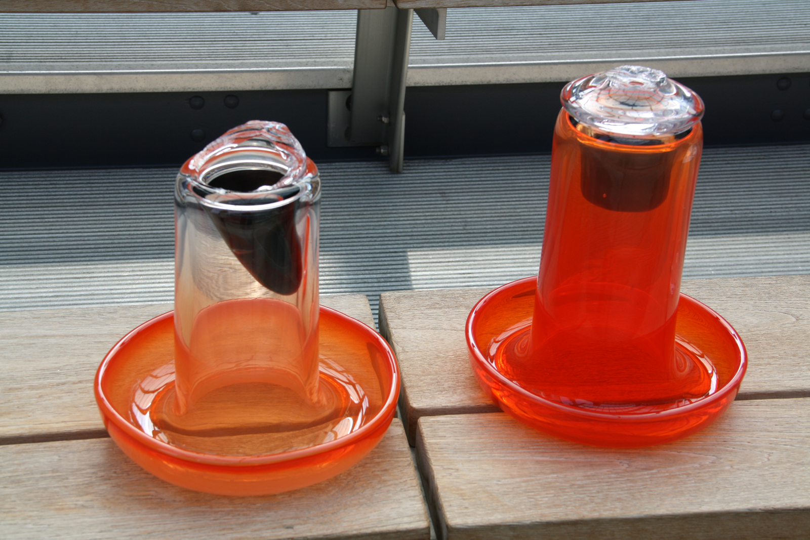 Design prototypes by Sigi Moeslinger for GlassLab in Corning, June 2012