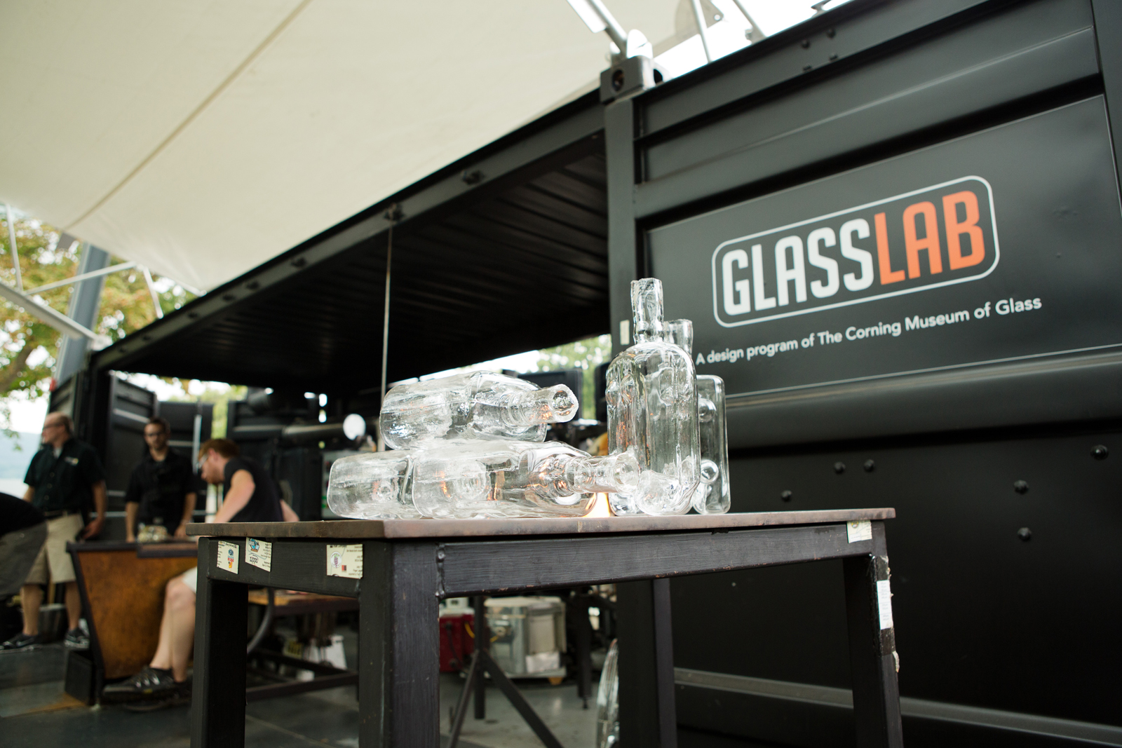 Tim Dubitsky at GlassLab in Corning, August 2012