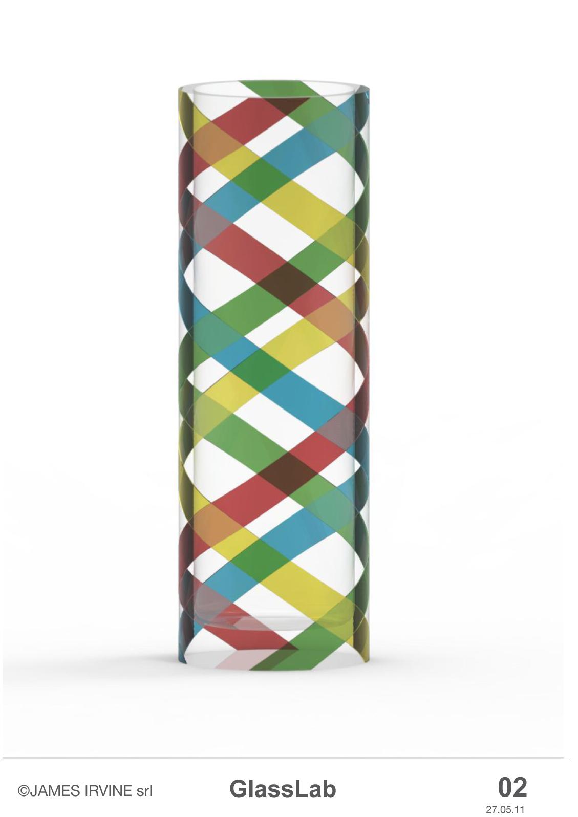 Design concept by James Irvine for GlassLab at Art Basel 2011