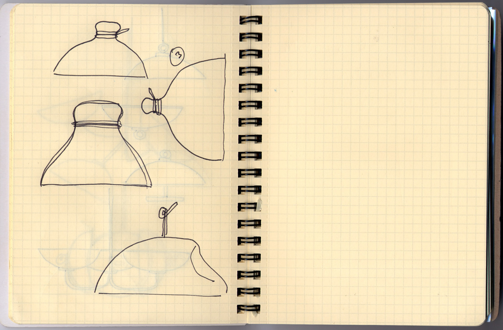 Sketch by designer Jason Miller for his GlassLab design session at the Museum, June 5-6, 2012