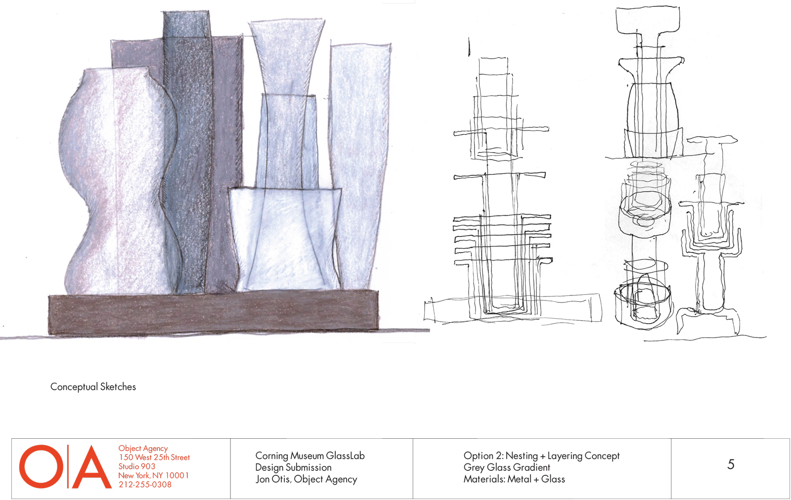 Design concept by Jon Otis for GlassLab, July 2012