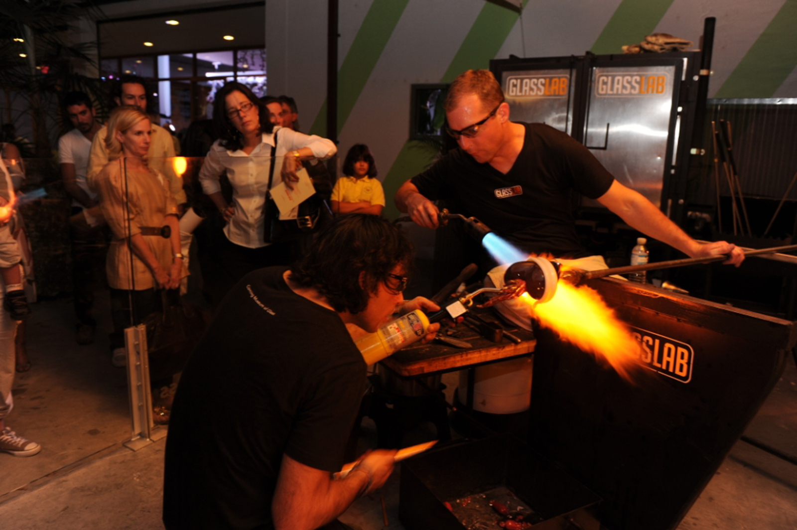 Designer Tim Dubitsky at GlassLab Design Miami