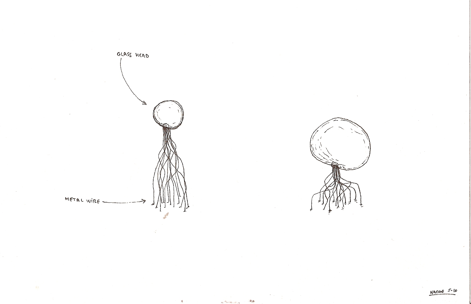Design drawing by Nacho Carbonell for GlassLab at Art Basel 2010