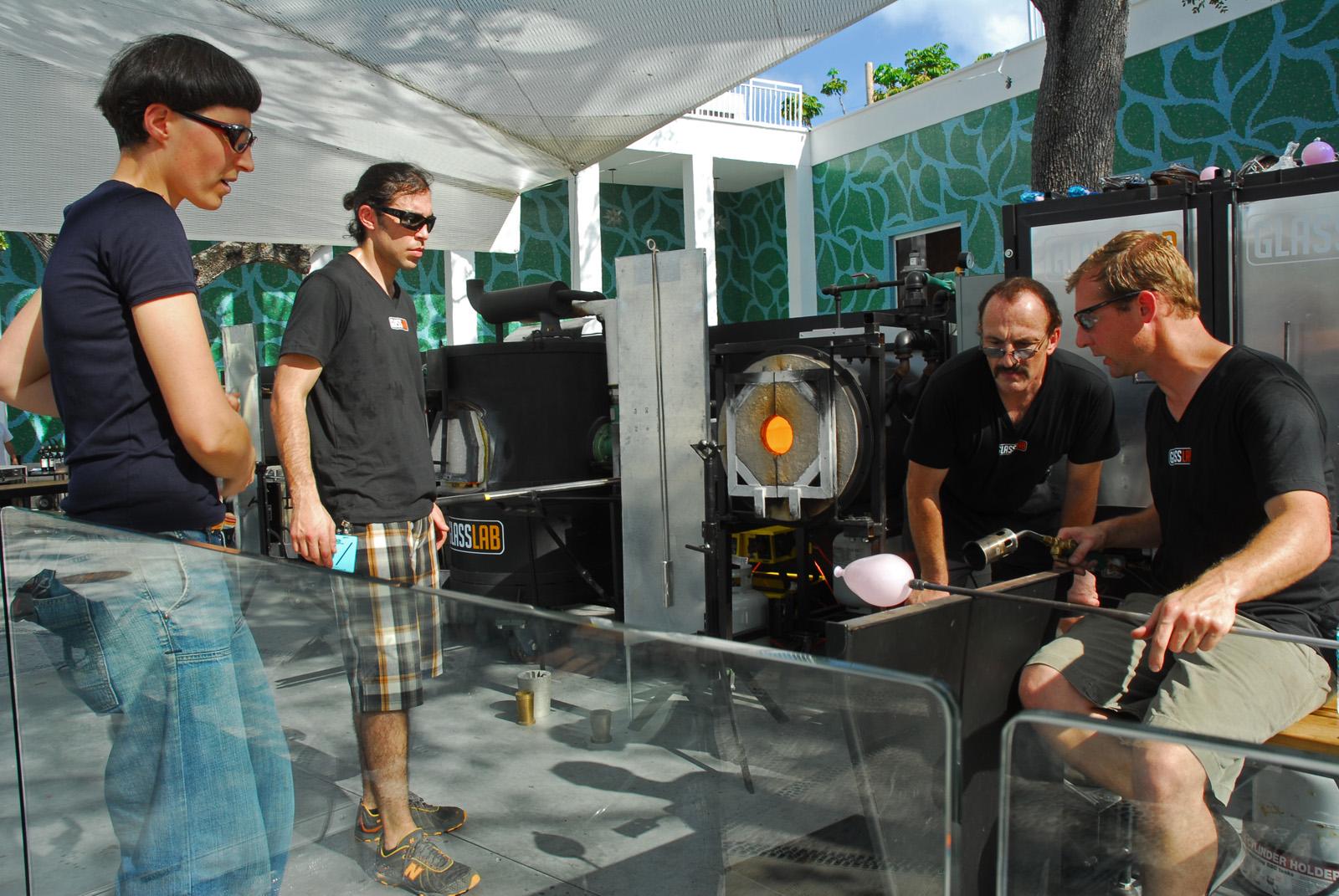 Matali Crasset at GlassLab at Design Miami 2007