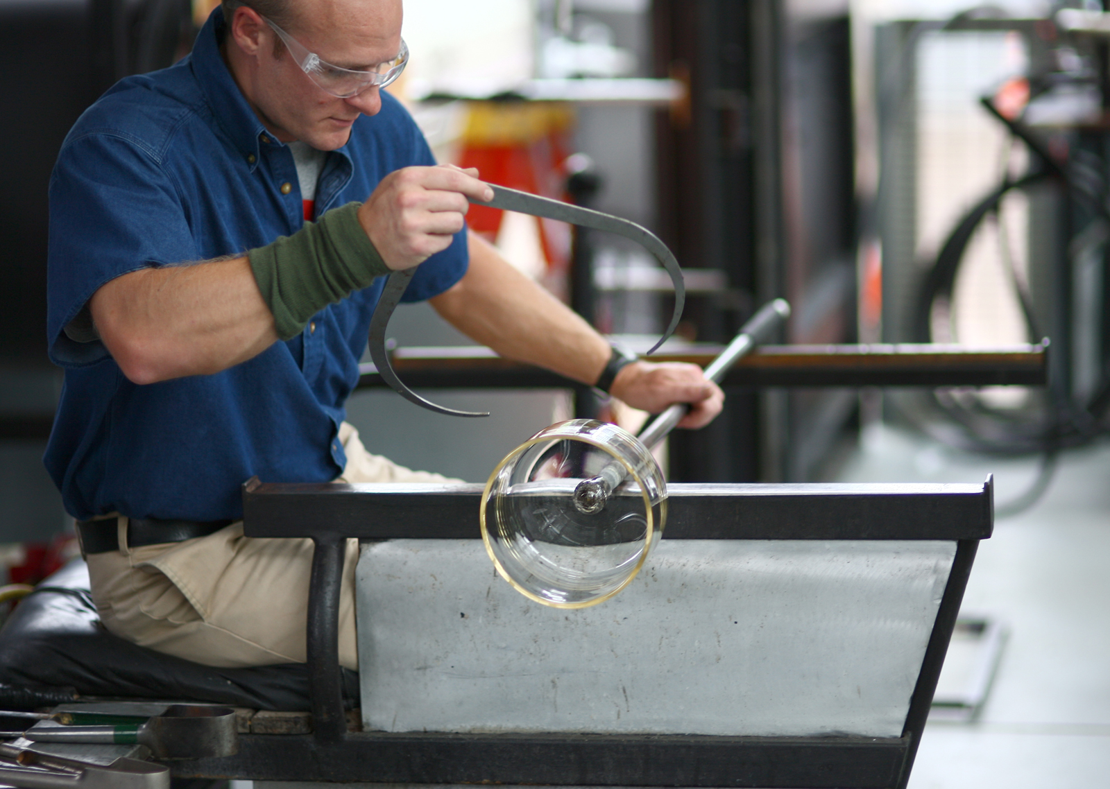 David Strauss participates in a GlassLab design session in Corning, June 2013