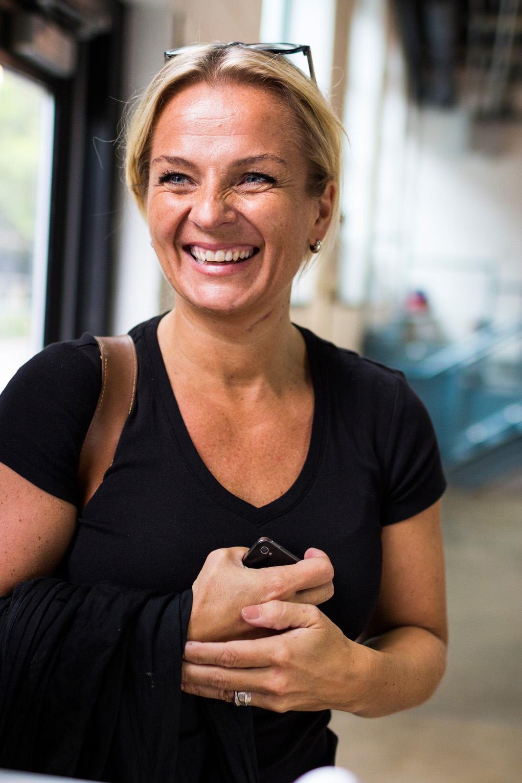 GlassLab designer Sigga Heimis at The Studio, August 2013