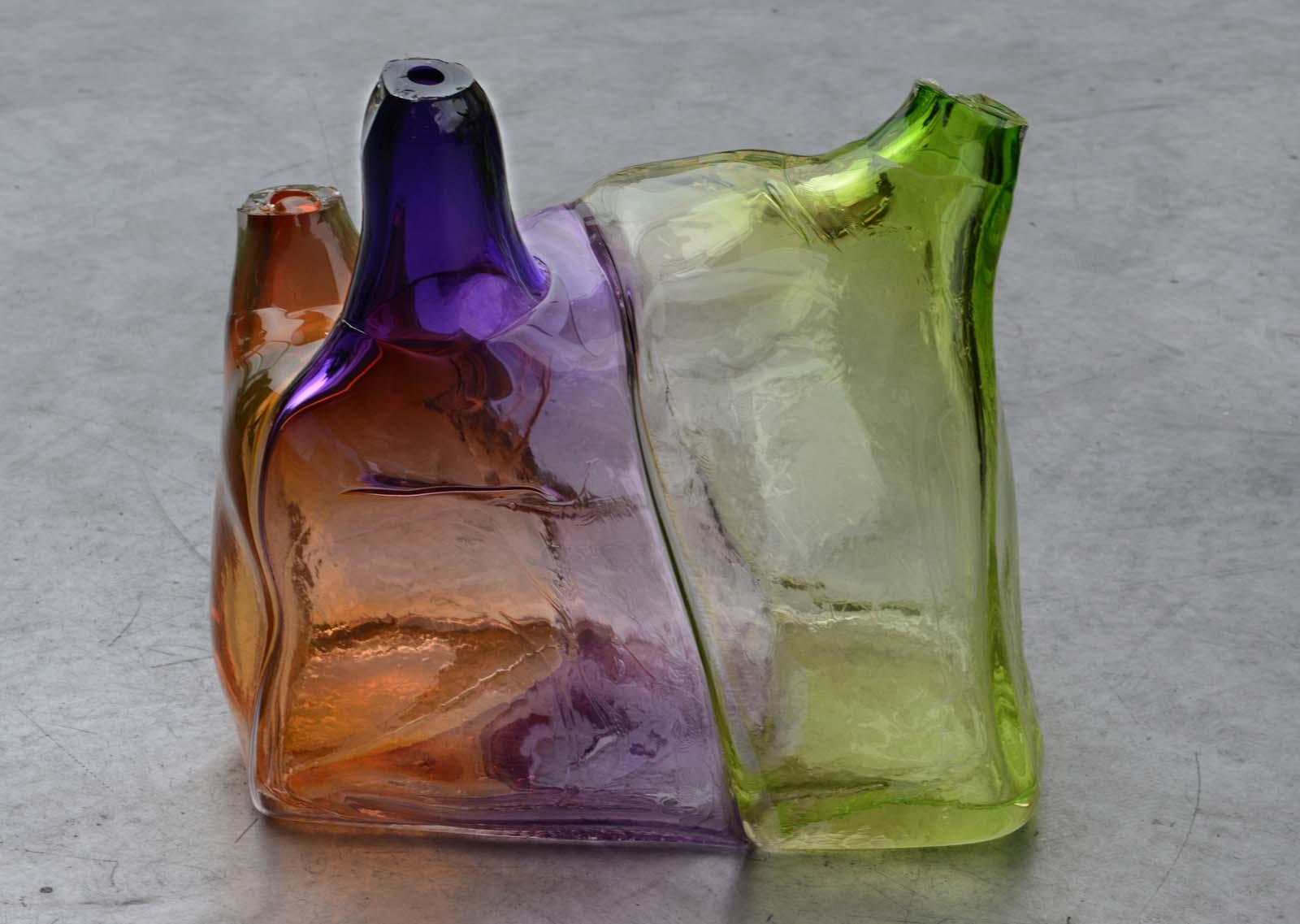 Design prototype by Arik Levy for GlassLab Paris, 2013. Photo credit Diedi von Schaewen.