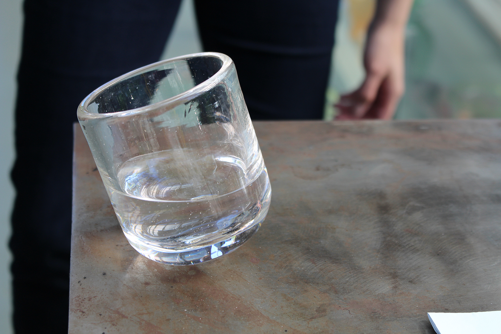 Whiskey glass design by GlassLab Fellowship recipient Bridget Sheehan
