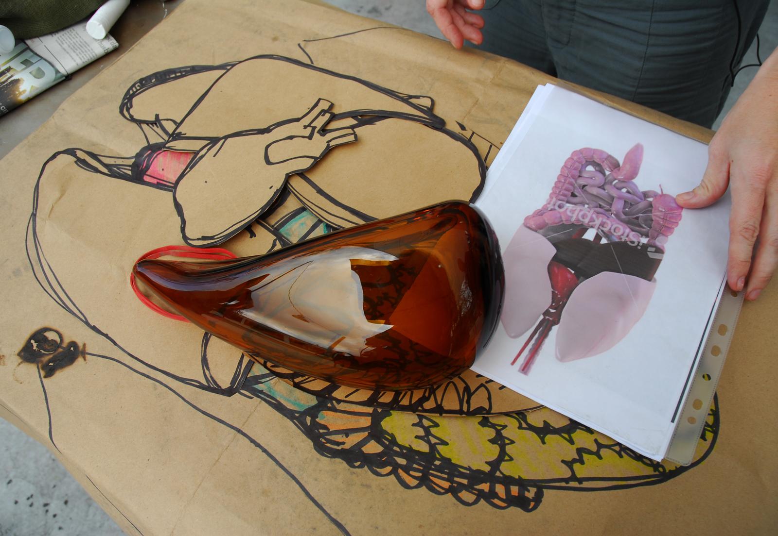 Prototype by designer Sigga Heimis at GlassLab