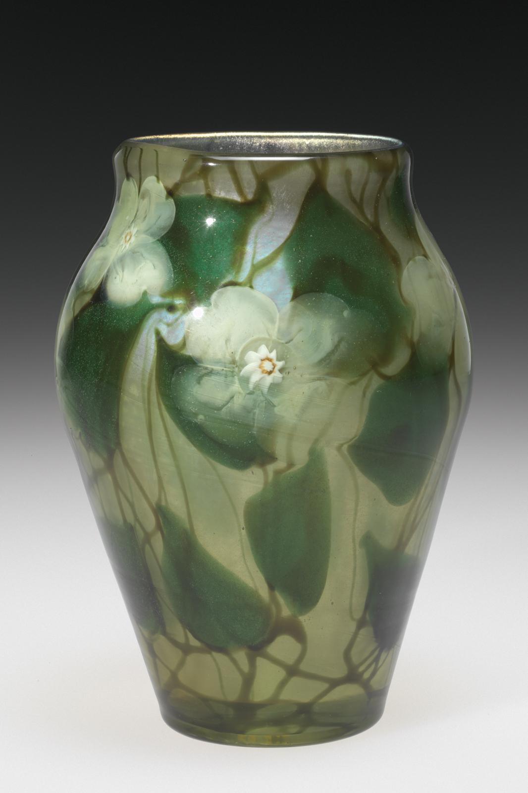 S Art Glass Vases