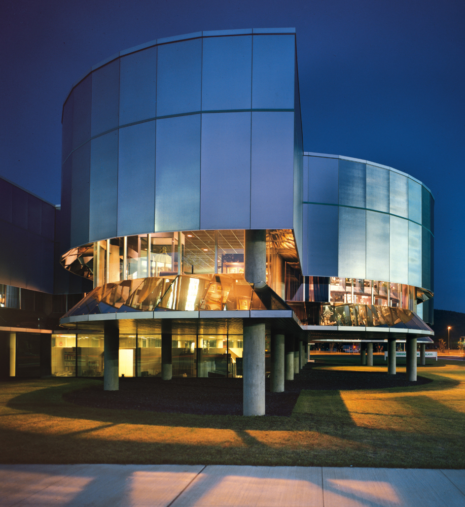 Campus Architecture Corning Museum Of Glass