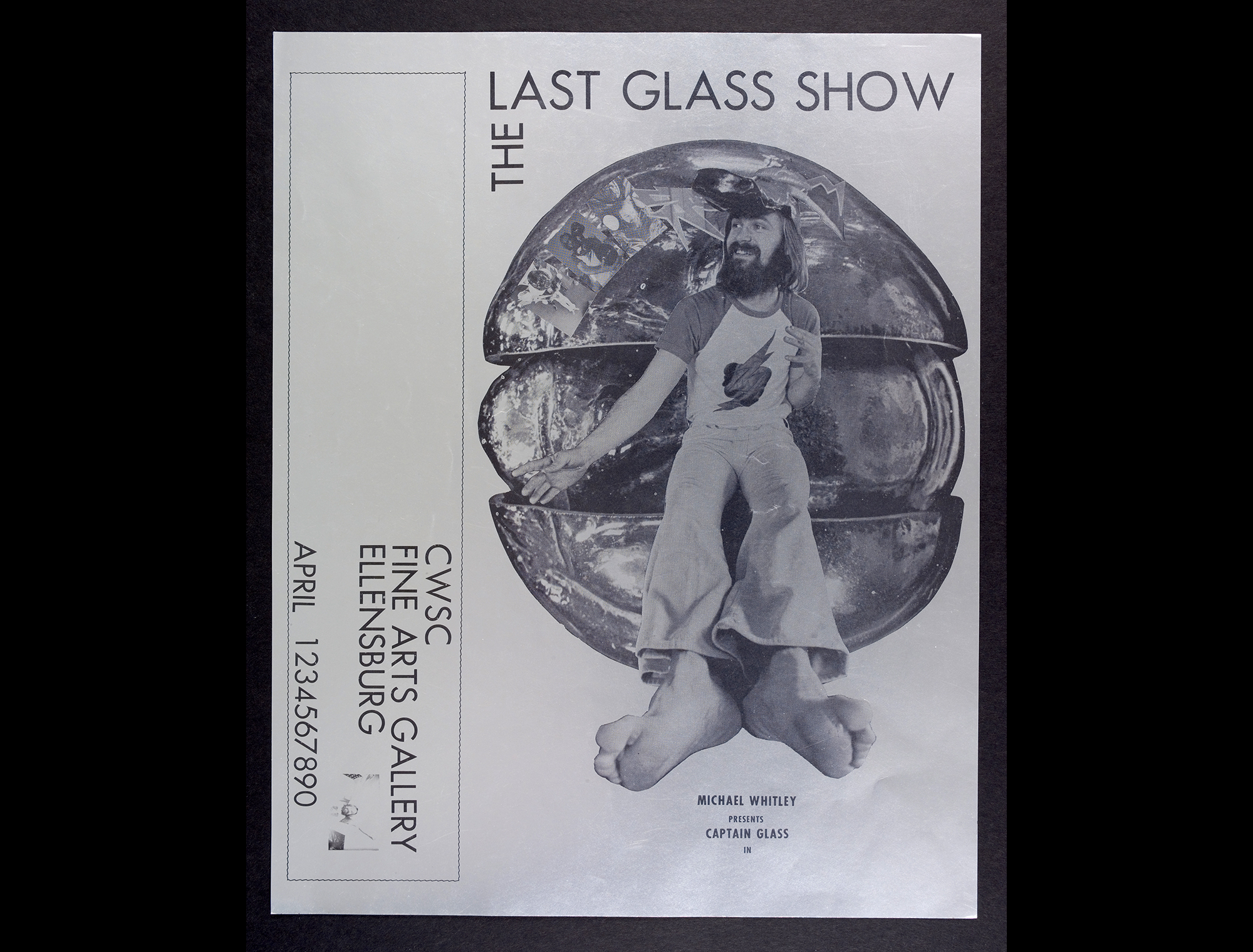The last glass show, Central Washington State College Fine Arts Gallery, Ellensburg, Wash. CMGL 95402.
