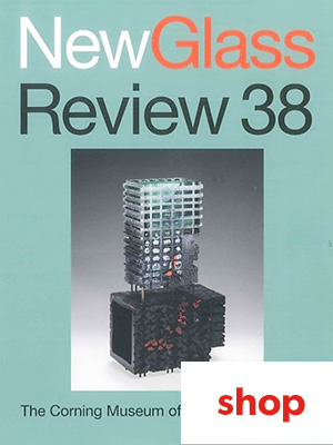 New Glass Review #38 (cover) - shop
