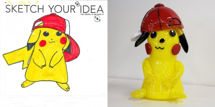 Pokemon designed by Kaylin; made by George Kennard