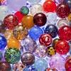Glittering Glass Ornaments