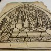 Whitefriars cartoon for the Eastman Memorial Window designed for Park Church in Elmira, NY, before conservation.