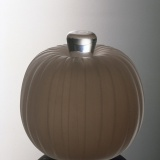 Ribbed peach (cologne bottle) [slide].
