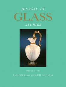 Journal of Glass Studies, Vol. 25