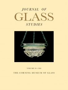Journal of Glass Studies, Vol. 30