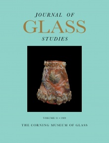 Journal of Glass Studies, Vol. 31