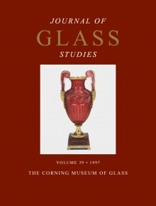 Journal of Glass Studies, Vol. 39