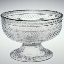 Blown three-mold glass