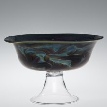 Marbled glass