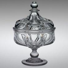 Pillar-molded glass