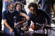 Harvey Littleton and Dale Chihuly at Pilchuck, 1974