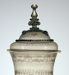 Detail of goblet with cover