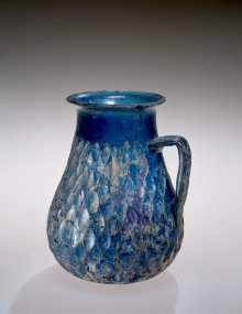Ewer, Roman Empire, late first–early second century A.D. Collection of The Corning Museum of Glass (65.1.23)