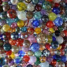 Over 2,000 handmade glass ornaments.