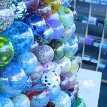 Each ornament is unique