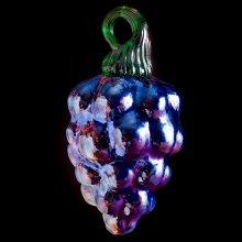 Mold-Blown Grape Ornament