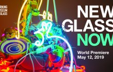 New Glass Now exhibition graphic.