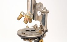 Microscope. Photo: Museum Boerhaave, Leiden, the Netherlands.