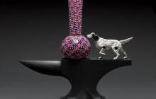 Granulare Vase/Anvil (English Setter)