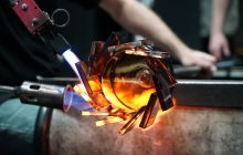 Hot Glass Demo at CMoG