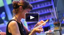 Kate Fowle Meleney at 2300°: GlassFest Bead Extravaganza (May 2013)